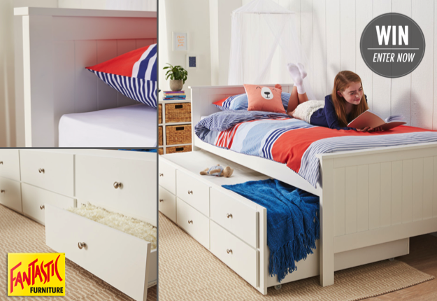 Phillipa reviewed WIN a Jordan Single Captain Bed from Fantastic Furniture!