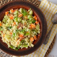 Sugar free and grain free fried rice