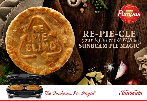 WIN a Pie Magic® Pie Maker with Pampas
