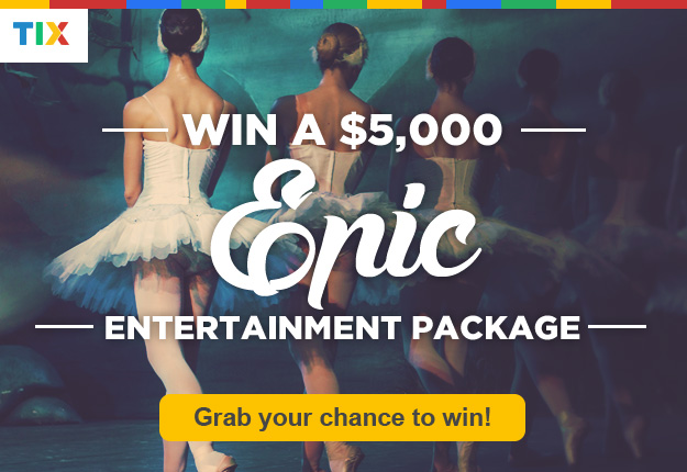 WIN a $5000 entertainment package!
