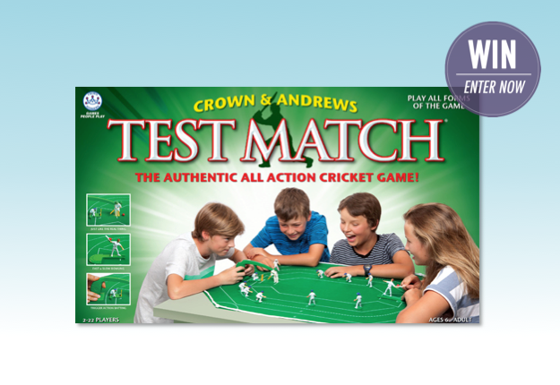 Win 1 of 9 copies of Test Match