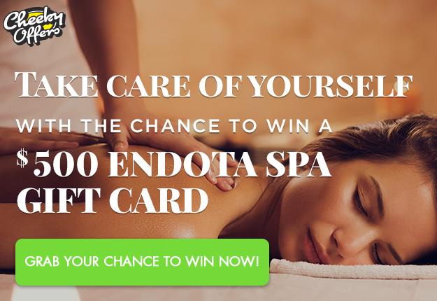 WIN a $500 Endota Spa Gift card!
