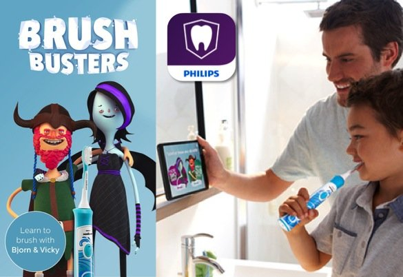 Philips Sonicare for Kids Review_Brush Busters App_585px