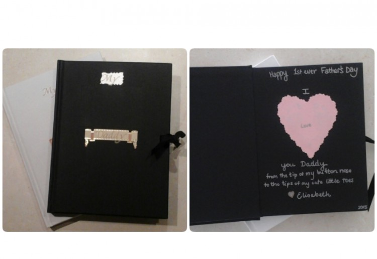 Fathers Day gift journal