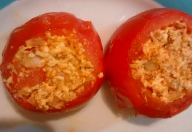 Stef reviewed Stuffed tomatoes