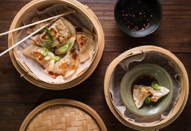Yummy dumplings