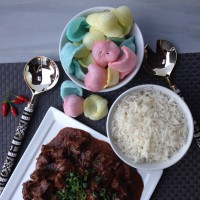 Beef rendang - made in Philips all-in-one cooker