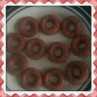 Gluten free. Grain free, low fat baked donuts