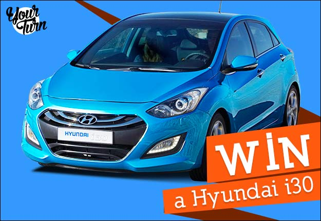 Win a Hyundai i30 thanks to YourTurn or swap it for $15k cash!