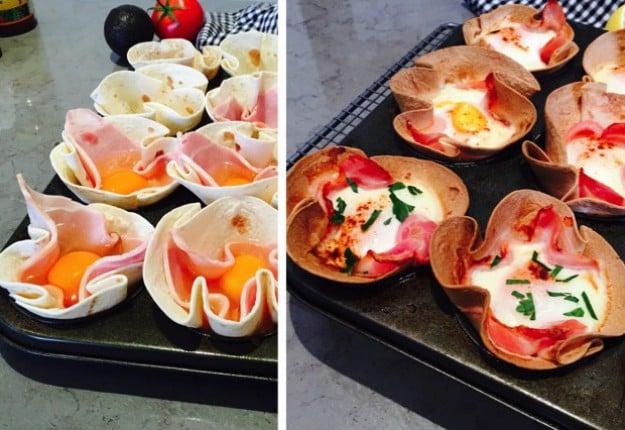 Burrito Breakfast Baskets