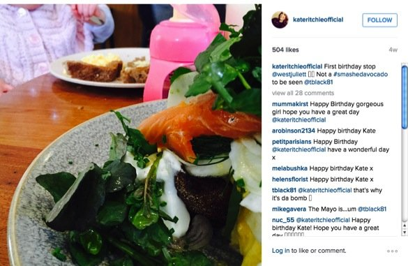 how kate ritchie is coping with being mum to mae_breakfast for kate and mae