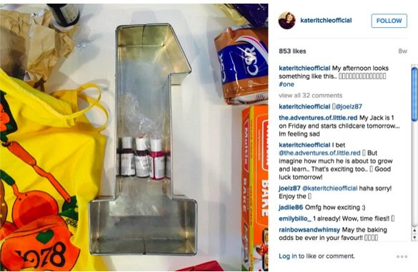 how kate ritchie is coping with being mum to mae_step one of the birthday cake