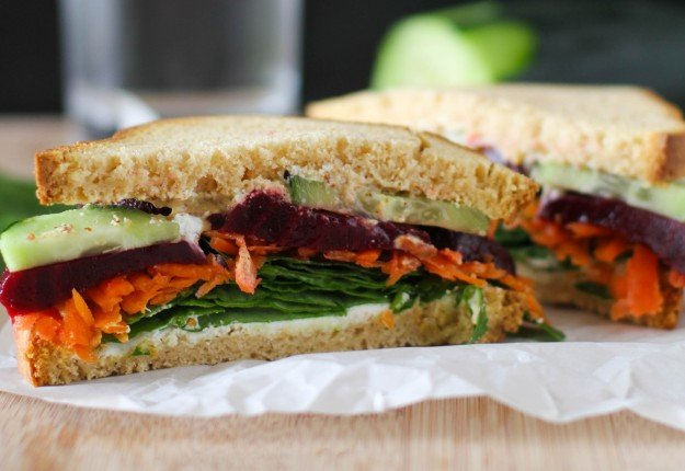 Clean Eating Detox Sandwiches