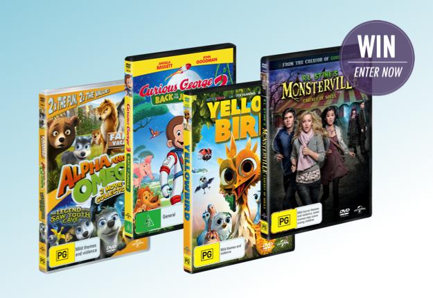 WIN 1 of 7 September Family DVD Packs