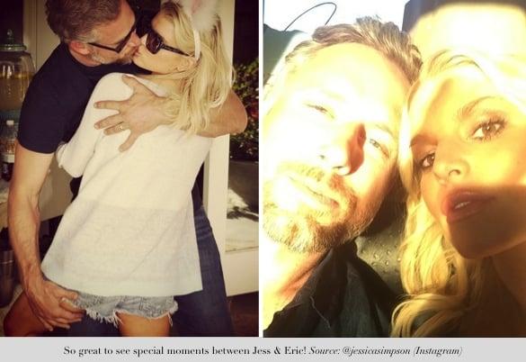 jessica simpson shares precious moments_jessica and eric keep the romance alive