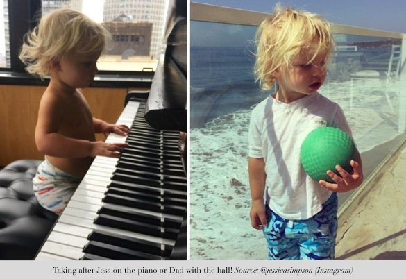 jessica simpson shares precious moments_pensive moments for ace