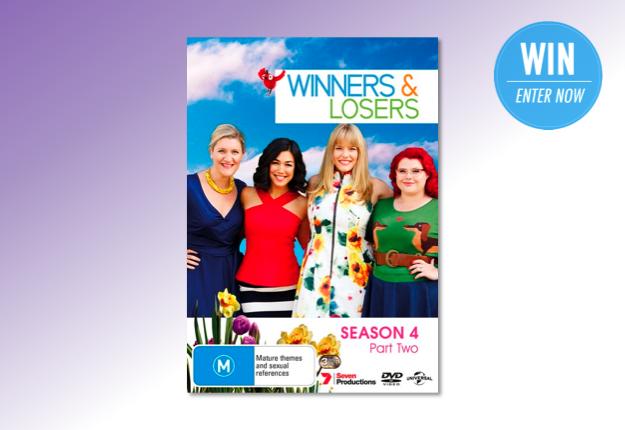 WIN 1 of 13 copies of Winners & Losers Season 4 Part 2 on DVD!