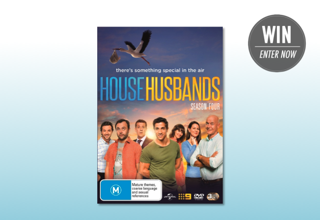 WIN 1 of 13 copies of House Husbands Season 4 on DVD!