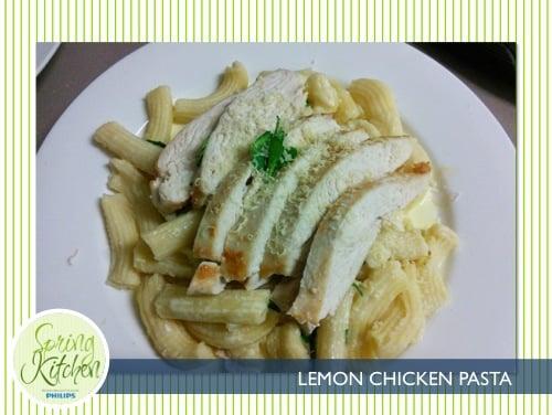 philips spring kitchen_member recipes_500x376_lemon chicken pasta