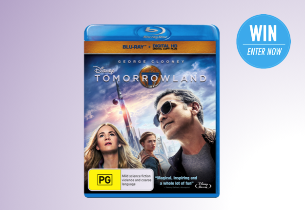 WIN 1 of 3 Tomorrowland prize packs from Disney