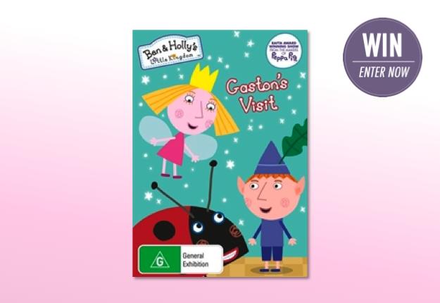 WIN 1 of 15 Ben & Holly's Little Kingdom DVD bundles