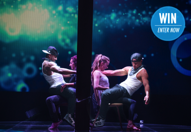 WIN 1 of 15 Magic Mike XXL DVDs
