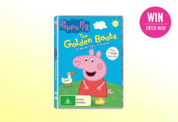 WIN 1 of 15 Peppa Pig DVD bundles