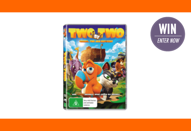 WIN 1 of 15 TWO BY TWO DVD/plush packs