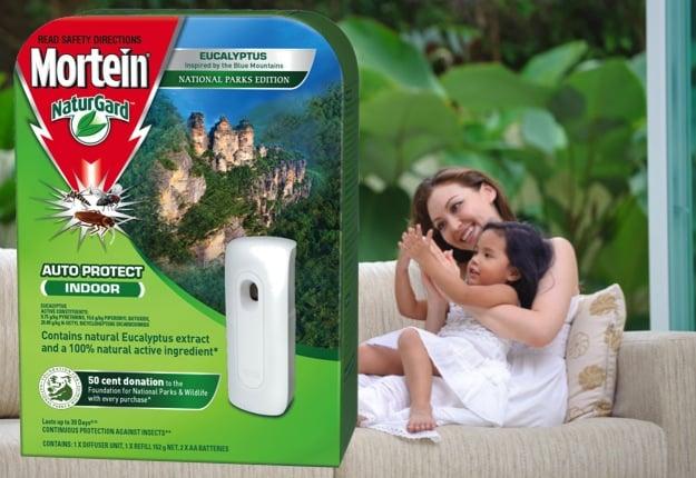 Mortein Naturgard Auto Protect Indoor Eucalyptus Insect Control