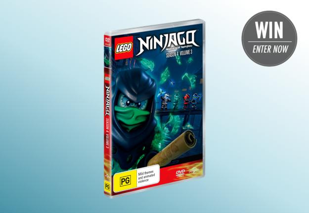 WIN 1 of 25 LEGO® Ninjago™: Season 4, Volume 3 DVDs