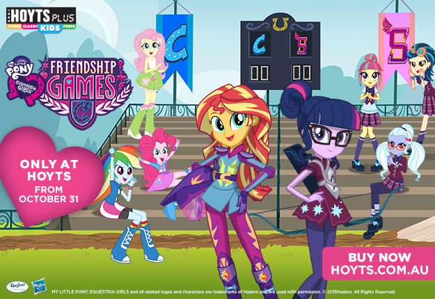 WIN 1 of 5 Equestria Girls: Friendship Games Prize Packs from HOYTS