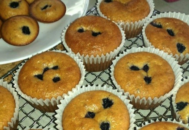 Missey Grace reviewed Blueberry banana muffins
