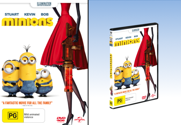 WIN 1 of 25 Minions DVDs!