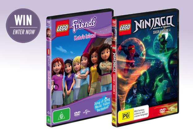 WIN 1 of 20 brilliant DVD packs