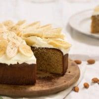 Flourless White Chocolate Almond Cake