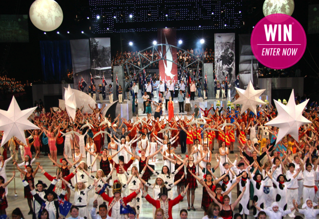 WIN 1 of 5 double passes to Schools Spectacular