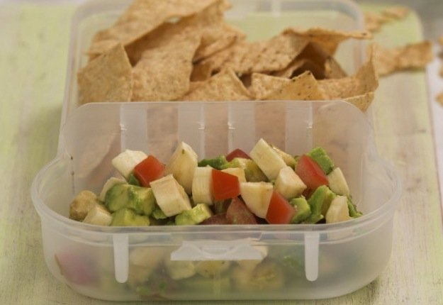 Banana Guacamole for Kids