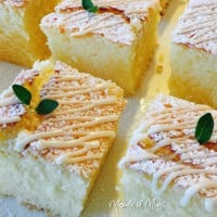 Lemon Cake with Cointreau Drizzle