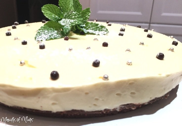 Mint Slice Cheesecake
