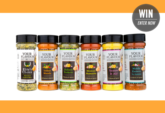 WIN 1 of 10 Chef's Edition Packs from Your Flavour!