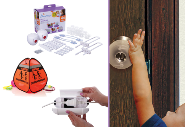 WIN 1 of 5 Garage Safety Packs from Dreambaby®, valued at over $93.00!