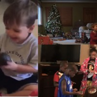 Kids get cute... and crazy, at Christmas time!