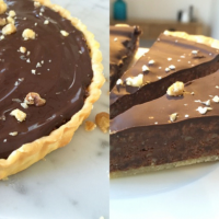 Tim Tam Slice with Walnuts