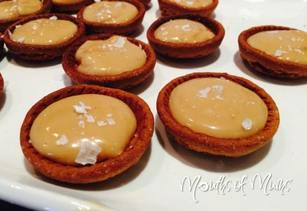 Salted Caramel Ginger Snap Tarts