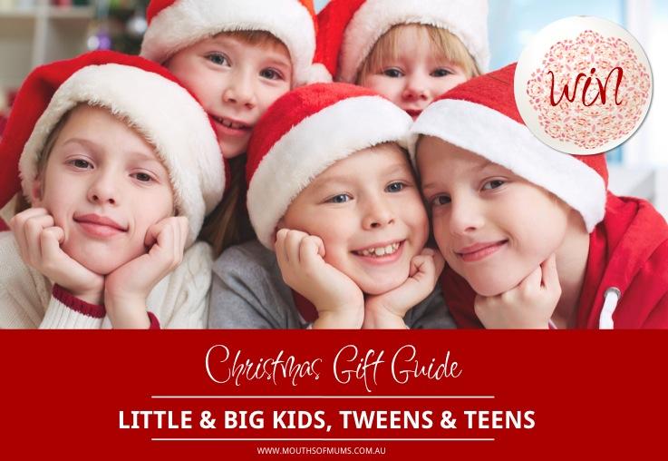 WIN MoM's 'Little kids, Big kids, Tweens & Teens gift guide hamper