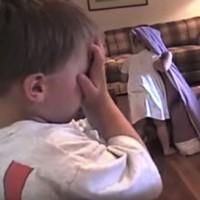Adorable kids play Hide and Seek, badly