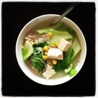 Nourishing tofu soup