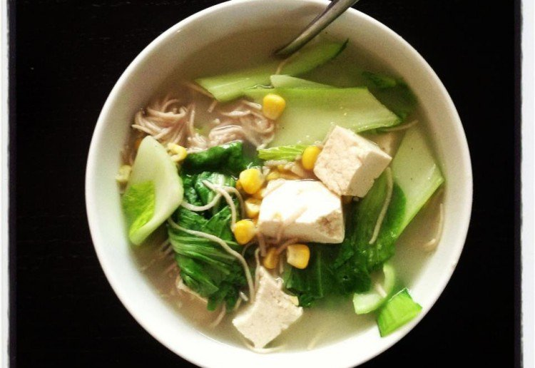 Nourishing tofu soup