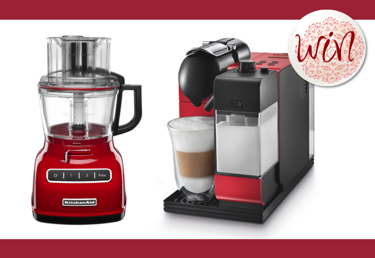 WIN a coffee machine and food processor from Appliances Online