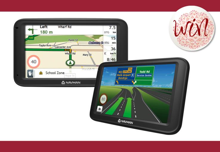 WIN 1 of 6 Navman EZY260LMT GPS devices